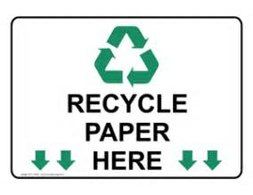 Essay on recycling paper